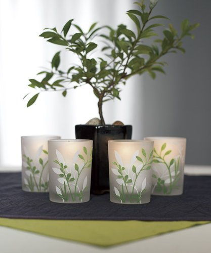 Botanical-Garden-Votive-Candle-Holders-W7003-Quantity-of-4