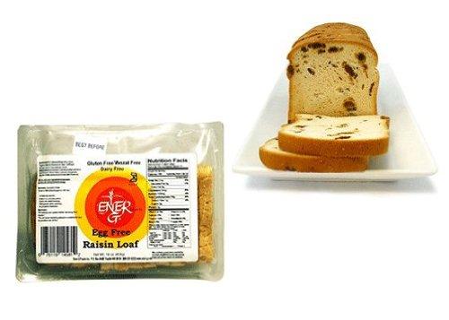 Gluten Free Egg-Free Raisin Loaf 16Oz. Pack Of 6 Bags