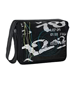 classic messenger bag - foto black by L?ssig: Health & Personal Care