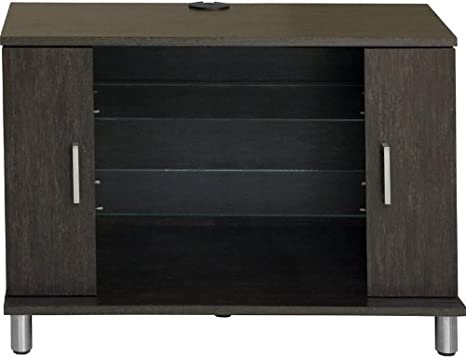 Ameriwood 1176057Y TV Stand, Black Castle