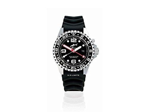 Chris Benz Deep 2000m Automatic GMT CB-2000A-D1-KB Automatic Mens Watch Diving Watch
