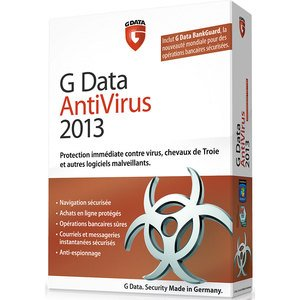 G Data antivirus 2013 (1 poste, 2 ans)