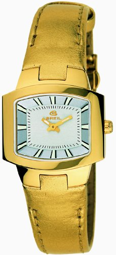 Breil Style Collection Women's Yellow Leather Band Watch - model BW0064