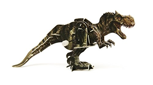 3D Dinosaur Wind Up Walking Puzzle - T-Rex - 1