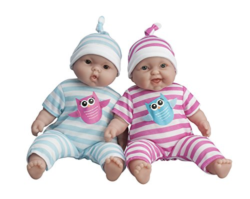 Toys For Twins : Jc toys lots to cuddle babies inch baby soft doll