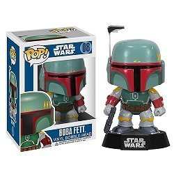 Boba Fett Pop! Vinyl Figure Brand New / Rare Star Wars Bounty Hunter #08
