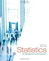 Statistics for Management and Economics, 10th Edition Front Cover