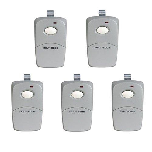 Linear 308911x5 5-Pack 3089 Gate Opener or Garage Door Opener Remotes (Multicode Garage Door Remote compare prices)