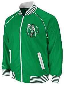 Boston Celtics Green Mitchell & Ness Downtown Track Jacket by Mitchell & Ness