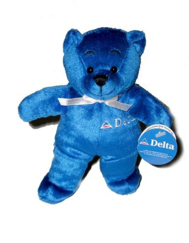 Delta Plush Teddy Bear (REVISED)