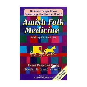amish folk medicine   home