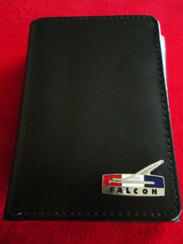Ford Falcon Tri-Fold Italian Leather Wallet