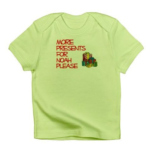 Personalized More Presents Birthday Christmas Shirt For Baby Kids