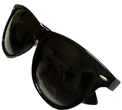 New (Unisex Mens Ladies) Black Wayfarer Sunglesses Shades UV400 Lense