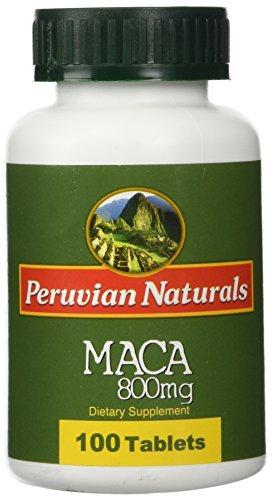 Organic Maca 800mg - 100 Tablets