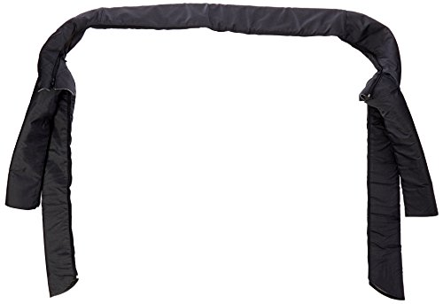 Rugged Ridge 13610.15 Black Denim Roll Bar Cover Kit for Jeep CJ and 87-91 Wrangler YJ (91 Jeep Yj Lift Kit compare prices)