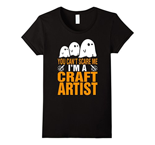 [Women's Craft Artist Costume Women T-Shirt XL Black] (Artist Costumes Halloween 2016)