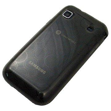 がうがう! docomo GALAXY S SC-02B / SAMSUNG GT-I9000 Clear Soft Case Circle Pattern, Clear Black 「docomo GALAXY S SC-02B / SAMSUNG GT-I9000」専用 クリアソフトケース サークル・パターン, クリアー・ブラック SGSI9000-CVC-01