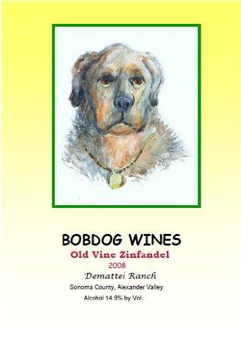 2008 Bobdog Wines Old Vines Zinfandel Alexander Valley 750 Ml