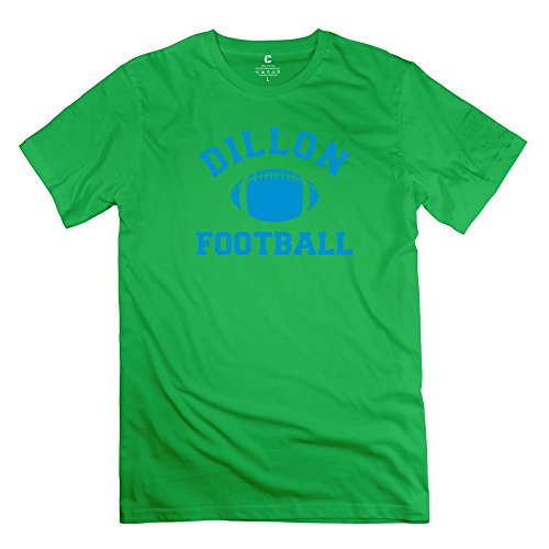 Yongth Men'S Dillon Panthers Football 100% Cotton T-Shirt - Style T Shirt Forestgreen Us Size M