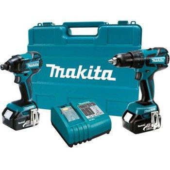 Makita LXT239 18-Volt LXT Lithium-Ion Brushless Cordless 2-Piece Combo Kit W/ 2 Batteries