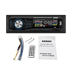 Krown Car Stereo CS-6225 with built-in FM, MP3, USB, SD Card Media Player Support & AUX IN