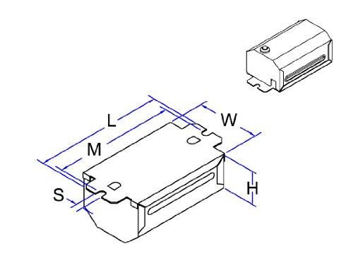 Robertson 3M10353 S1Rc /C Mballast, Npf, 120Vac., 60Hz, (1) 13Tt-2 V3