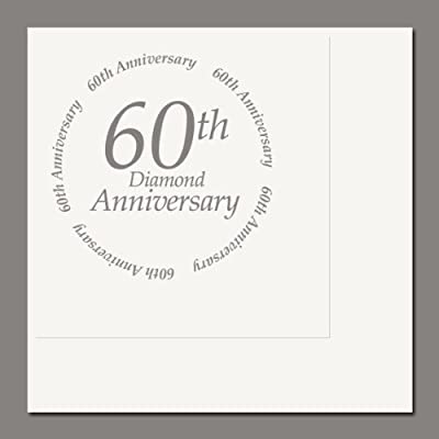 60th Anniversary Luncheon Napkin (16/pkg)