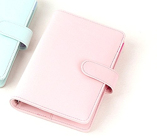 Passion leather spiral notebook Original office personal diary/week planner/agenda organizer Cute ring stationery binder A6 (Personal Organizer A5 compare prices)