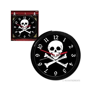 Accoutrements Pirate Clock