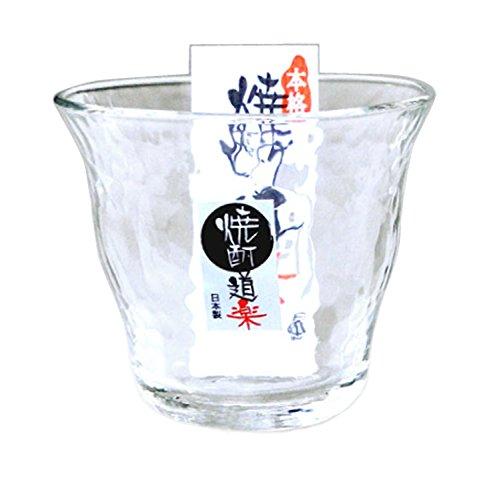 ロックグラス 本格焼酎道楽 焼酎ロックグラス 300ml P-33133-JAN-P