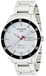 Tissot Men's T0444302103100 T-Sport PRS 516 Silver Day Date Dial Watch