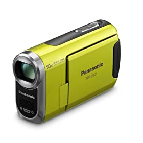 41zlZU6ogwL. SL500 AA280  Panasonic SDR SW21 Shock & Waterproof Camcorder (Green)   $279 Shipped
