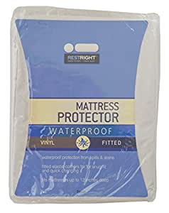 Vinyl Fitted Mattress Cover Twin Fitted Mattress Cover