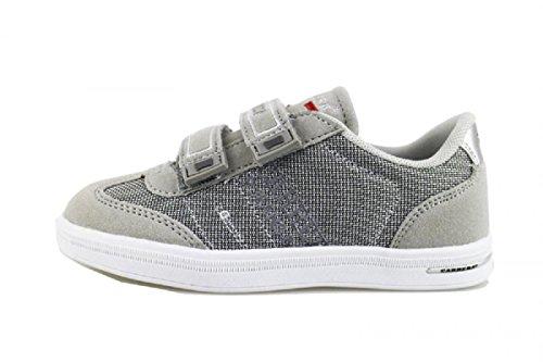 CARRERA JEANS sneakers bambino grigio tessuto camoscio AG502 (35 EU)