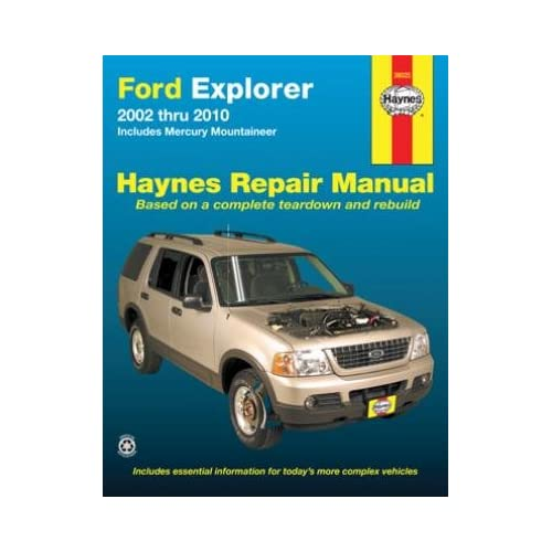 1997 ford explorer owners manual