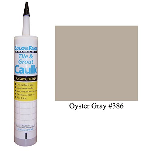 Color Fast Caulk Matched to Custom Building Products (Oyster Gray Sanded) (Custom Caulk compare prices)