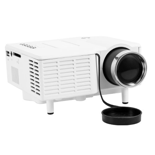 Free Shipping LightInTheBox Mini HD Home LED Projector 320*240 400LM , Super Bright LED ...