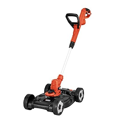 Black & Decker MTE912 12-Inch Electric 3-in-1 Trimmer/Edger and Mower, corded, 6.5-Amp