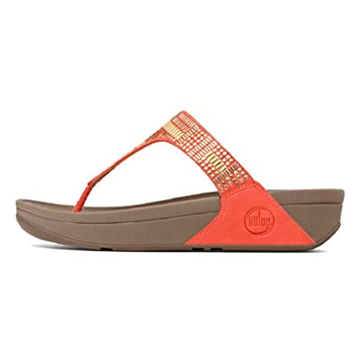 FITFLOP Aztek ChadaTM Ultra Orange FITFLOPS (6)