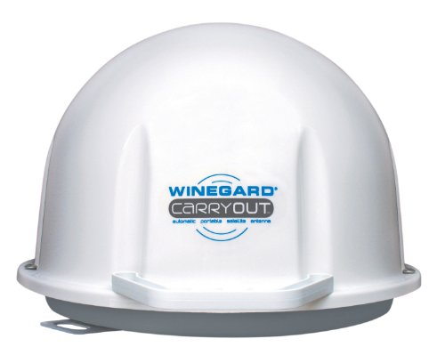 Winegard GM-1518 Carryout White Automatic Portable Satellite TV Antenna (Direct Tv Satelite For Rv compare prices)