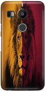 Premium Quality Hard Back Case Cover For LG Google Nexus 5X