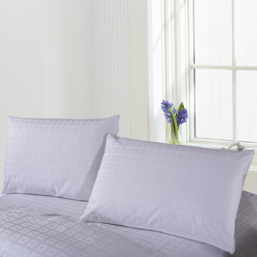 Daloyi Hotel Prime: 2-Piece Pillow Case Set - (New Design) Kona Squares- Jf10012