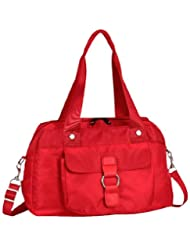 Fastrack Polyester Red Sling Bag (A0332NRD01)