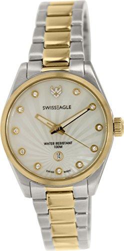 Swiss Eagle SE-6048-33 - Reloj para mujeres