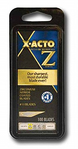 X-ACTO XZ611 50 Pack #11 100 Pc. Classic Fine Point Blade (Xacto Knife Z Blades compare prices)