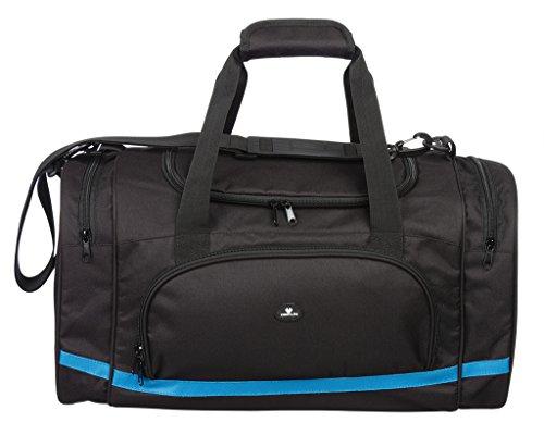 case4life-black-water-resistant-sport-gym-holdall-duffle-bag-padded-removable-shoulder-strap-lifetim
