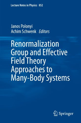 Renormalization Group and Effective Field Theory Approaches to Many-Body Systems (Lecture Notes in Physics)
