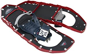 MSR Lightning Axis Snow Shoes (22-Inch, Tomato Red)
