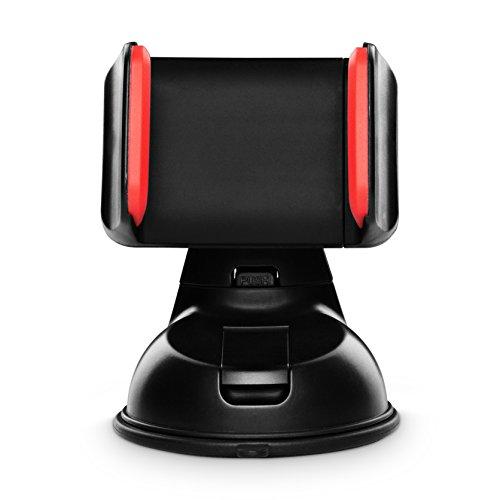 Handyhalterung-Auto-KFZ-Saugnapf-Scheibe-Navi-iPhone-Samsung-Galaxy-Extra-Klebeflche-Super-Halt-1-JAHR-100-ZUFRIEDENHEITSGARANTIE